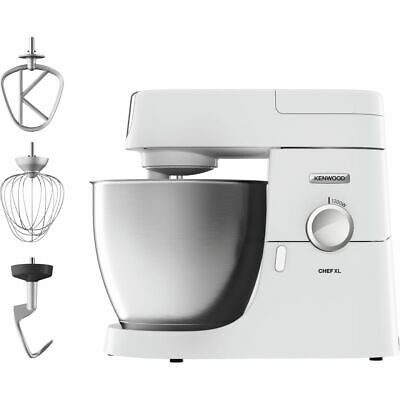 Kenwood KVL4100W Chef XL Stand Mixer With 6.7 Litres Bowl 1200 Watt White New • 399£