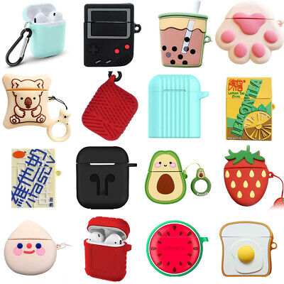 $ CDN2.61 • Buy AirPods Silicone Case + Keychain Ring Protective Cover For AirPod Case 2 1 Lot