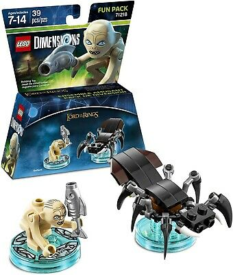 £7.16 • Buy The Lord Of The Rings Gollum Lego Dimensions Lotr Shelob Minifigure Misb 71218