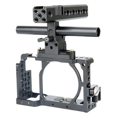 $ CDN89.16 • Buy NICEYRIG Camera Cage Kit For DSLR Sony A6400 A6300 With Nato Handgrip HDMI Clamp