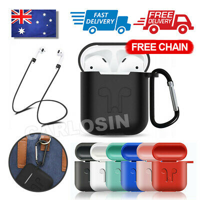 AU5.80 • Buy Strap Holder & Silicone Case Cover Skin For Apple Airpod Accessories Airpods AU