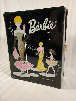$ CDN51.25 • Buy Vintage Barbie Carrying Case Double Ponytail 1962 Complete With No Cracks