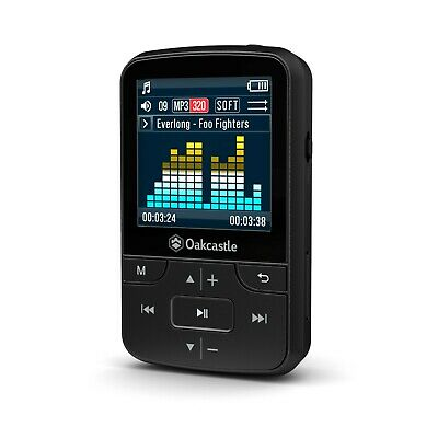 Oakcastle 8GB MP3 Player With Bluetooth, Long Life Battery, SD Card Slot, Clip • 29.95£