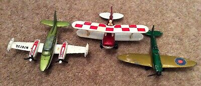 Matchbox Planes X 2 (Cessna 402 1974 & Pitts Special 1979) • 3£