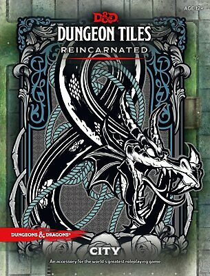 AU39.99 • Buy RPG - Dungeons And Dragons - Dungeon Tiles Reincarnated City NEW!