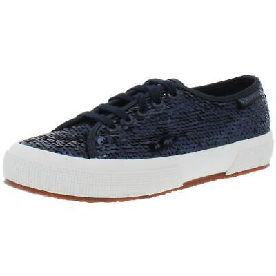 $16.19 • Buy Superga Womens 2750 Sequin Sequined Lace-Up Fashion Sneakers Shoes BHFO 4975