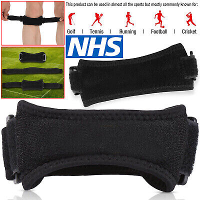 Adjustable Patella Tendon Strap Knee Support Jumpers Runners Pain Band Brace • 13.92£