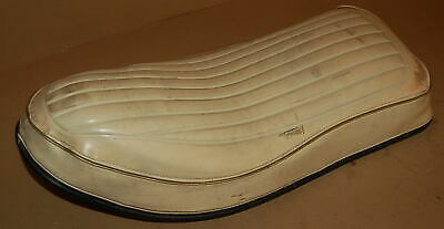 $35 • Buy HARLEY DAVIDSON SPORTSTER IRONHEAD 1965 To 1970's BUDDY SEAT WHITE DESCENT SHAPE