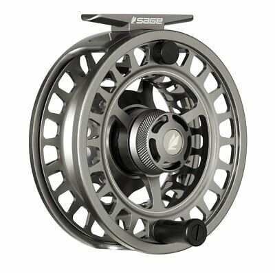 $500 • Buy Sage Spectrum Max 11/12 Fly Reel - Color Silver - NEW - FREE FLY LINE