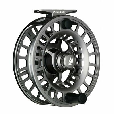$400 • Buy Sage Spectrum LT 7/8 Fly Reel - Color Silver - NEW - FREE FLY LINE