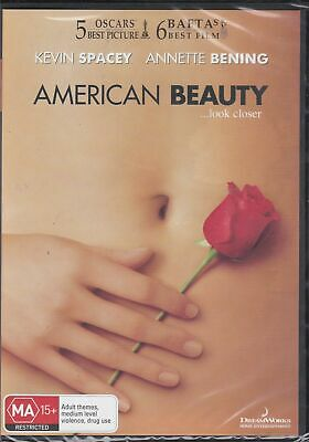 AU10.95 • Buy  AMERICAN BEAUTY -   Kevin Spacey, Annette Bening, Thora Birch   - DVD