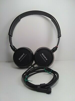 £8.68 • Buy Sony MDR-ZX100 Stereo Wired Headphones Black, Tested And Working