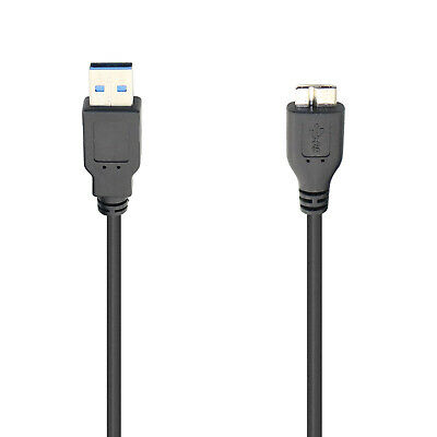 USB 3.0 Cable Cord For Seagate FreeAgent GoFlex Desk External Hard Disk Drive • 3.45£
