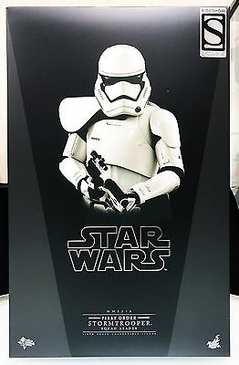 $159.99 • Buy Hot Toys Star Wars Force Awakens First Order Stormtrooper Squad Leader Exclusive