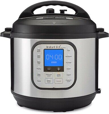 $98.99 • Buy Instant Pot Duo Nova 6 Quart 7-in-1 One-Touch Multi-Use Programmable-Lates Model