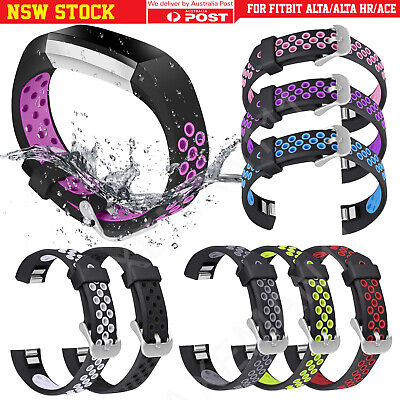 AU8.95 • Buy Fitbit Alta/Alta HR/Ace Replacement Bands Secure Strap Sports Wristband Buckle