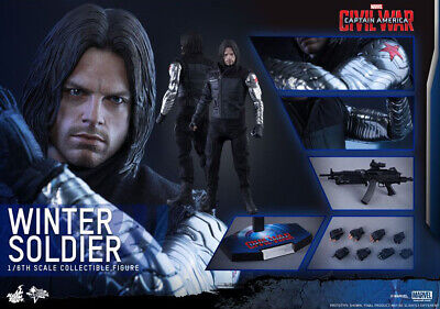 $225 • Buy Hot Toys 1/6 MMS351 The Winter Soldier Mint, Complete, In Box With Shipper