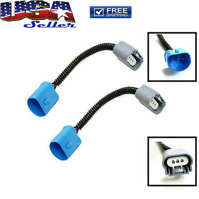$10.02 • Buy 9007 HB5 To H13 9008 Pigtail Headlight Conversion Cable Wire Adapter Converter