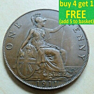 £8.99 • Buy King George V One 1 Penny Choice 1911-1936 Pick Your Own Choose Date