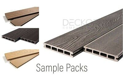 £0.99 • Buy Composite Decking Boards | Premium Quality | 99p Sample Packs | 8 Colours