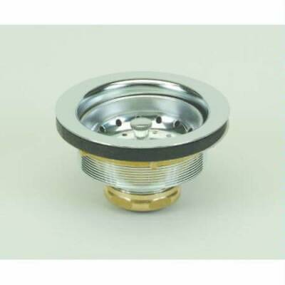 $33.14 • Buy PROFLO PF250 Kitchen Sink Drain Assembly And Basket Strainer - - Brass