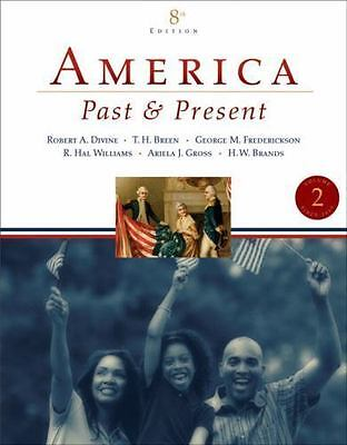$4.37 • Buy America Past And Present, Volume II (since 1865) (8th Edition)