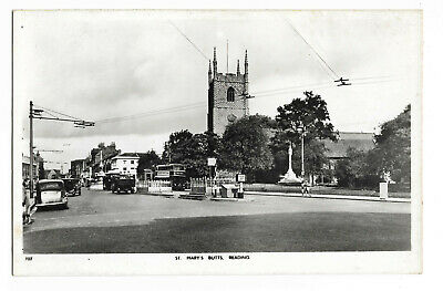 POSTCARD 'BERKSHIRE' St.Mary's Butts, Reading (RP) /G-011 • 1.65£
