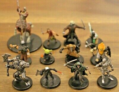 $ CDN79.33 • Buy Uncommon Race Character Miniature Lot 12 D&D Pathfinder Warforged Tiefling Drow