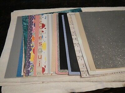 $9.99 • Buy Lot Of 40 Recollections 12 X12   Scrapbook Paper - Good Variety - New