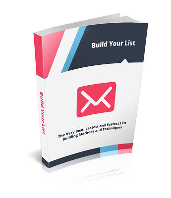 $0.99 • Buy Build Your List List Marketing (PDF-Ebook)-(IMMEDIATE SHIPPING BY EMAIL