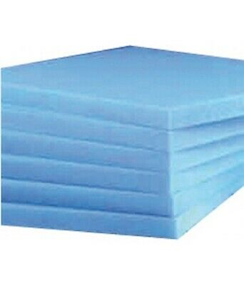 £2.99 • Buy UPHOLSTERY FOAM SHEET. HIGH DENSITY BLUE 60  X 20  ANY THICKNESS SIZE