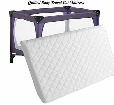 £17.99 • Buy Travel Cot Mattress Quilted 95 X 65 X 5cm To Fit Graco Redkite & Mamas & Papas