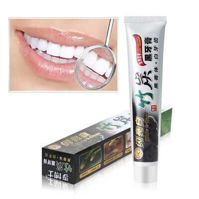 AU6.96 • Buy ACTIVATEDBamboo Charcoal Black Toothpaste Teeth Whitening Remove Stains White