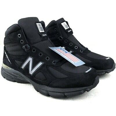 $82.99 • Buy New Balance 990v4 Made In USA Mid Boots Black Shoes Men's Size 12 MO990BK4
