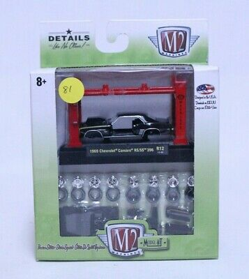 $5 • Buy M2 Machines 1969 Chevrolet Camaro Rs/ss 396 Model Kit New In Package #81