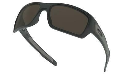 AU159 • Buy Oakley TURBINE Sunglasses Matte Black - Warm Grey Lens 9263-01