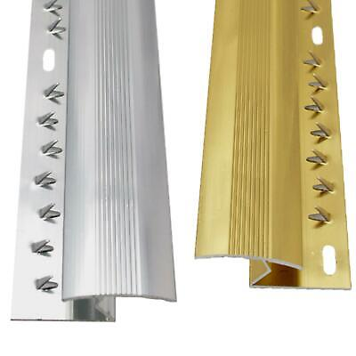 Carpet To Laminate Tile Wood Metal Z Bar Door Trim Threshold Brass & Silver • 5.39£