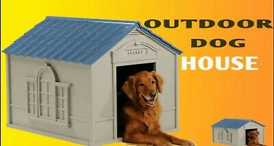 $109.88 • Buy Large Dog House XXL Pet Shelter Kennel Outdoor Deluxe Puppy Home