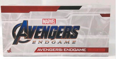 $ CDN322.86 • Buy Marvel Logo Mini Light Box Avengers End Game Hot Toys F/S JAPAN W/Tracking NEW