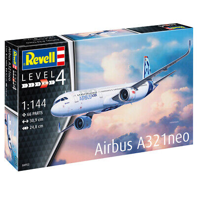 Revell 04952 Airbus A321neo Aircraft Model Kit - Scale 1:144 • 22.99£