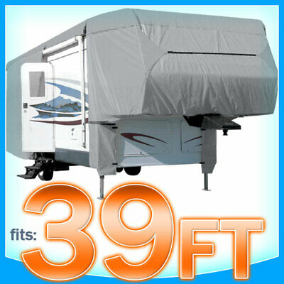 $ CDN206.74 • Buy 39' Ft 5th Wheel RV Toy Hauler Trailer Cover Storage Covers Camper UV Protection