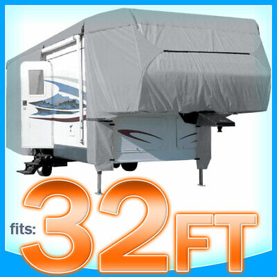 $ CDN189.29 • Buy 32' Ft 5th Wheel RV Motorhome Trailer Cover Storage Covers Camper UV Protection