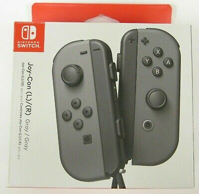 $61.99 • Buy Nintendo Switch Joy-Con L/R - Gray (HACAJAAAA)  -  *NEW* - Free Shipping