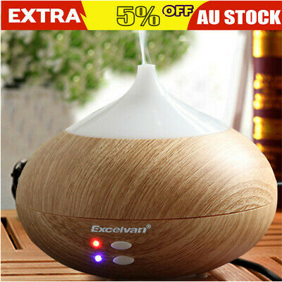 AU24.99 • Buy Ultrasonic Aromatherapy Aroma Diffuser Essential Oil Air Humidifier 7 LED Light