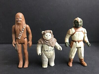 $ CDN25 • Buy Vintage Chewbacca 1977 Kenner Star Wars Action Figure Lot