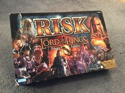 $9.90 • Buy 2003 RISK Lord Of The Rings TRILOGY EDITION Board Game LOTR