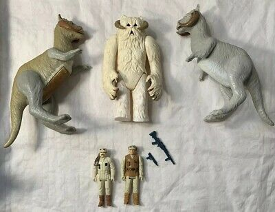 $ CDN71.73 • Buy Vintage 1980 Kenner Star Wars Empire Lot Action Figures Hoth Tauntaun Wampa