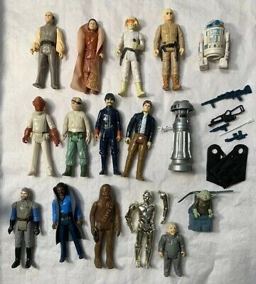$ CDN156.51 • Buy Vintage 1980 Kenner Star Wars Empire Lot Action Figures Bespin Leia Han Luke R2