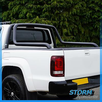Canyon Stainless Steel Roll Bar In Black - 76mm For Nissan Navara Np300 2016+  • 250£