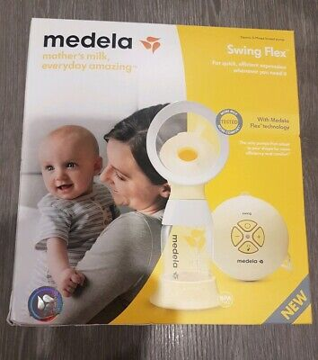 View Details BRAND NEW  Medela Swing Flex Electric 2- Phase Breast Pump • 55.00£